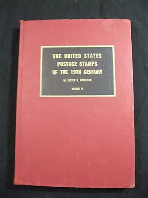 THE UNITED STATES POSTAGE STAMPS OF THE 19th CENTURY VOL 2 by LESTER G BROOKMAN