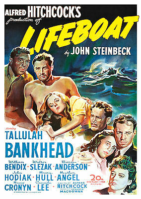 Lifeboat (1944) - A1/A2 Poster **BUY ANY 2 AND GET 1 FREE OFFER**