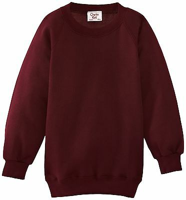 (TG. C28 IN- UK) Charles Kirk Coolflow - Felpa, colletto tondo, , unisex, Rosso