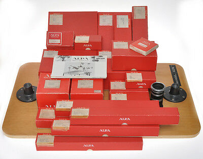 Alpa Macrostat rare set with many accessory, bellows, extension tubes.....