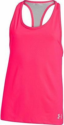Under Armour Luna Débardeur Fille Rose FR : S Taille Fabricant : YSM [F NEUF