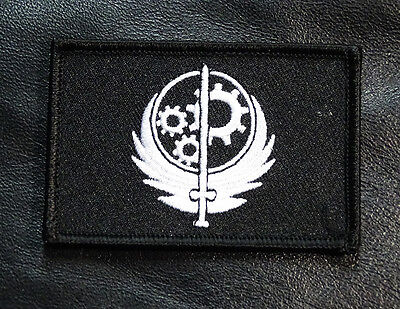 Brotherhood of Steel  Fallout Morale Military 3.0 inch HOOK LOOP  Patch