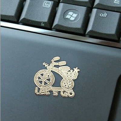 10X Korea Cartoon Anti-radiation 24k Gold-plated Mobile Phone Camera Stickers
