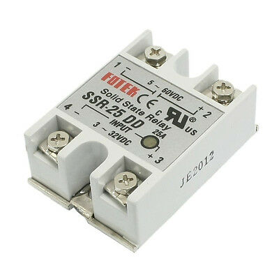 SSR-25DD Single Phase Solid State Module Relay 25A DC 5-60V MJ