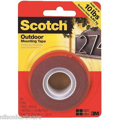 Gorilla Strong Mounting Tape Indoor Outdoor Double Sided Weatherproof 3M 411DC