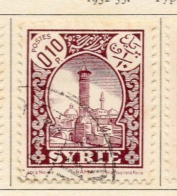 Syria 1932-35 Early Pictorial Issue Fine Used 10p. 047787
