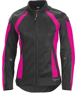 Fly Street Ladies Coolpro Pink/black L