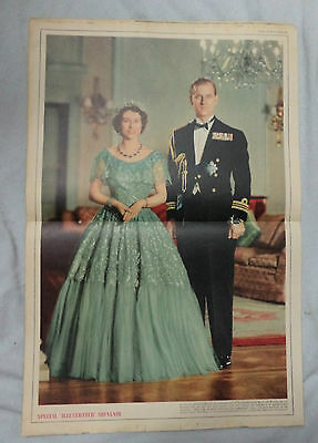 ILLUSTRATED  MAGAZINE,16th  February  1952, GEORGE VI COVER, PRINCESS ELIZABETH