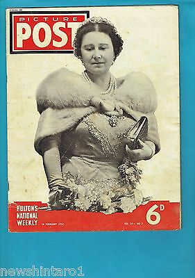PICTURE POST  MAGAZINE, 16th February 1952, DEATH OF KING GEORGE VI