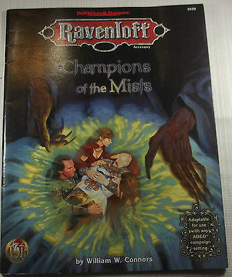AD&D - RAVENLOFT - Champions of the Mists - TOP -