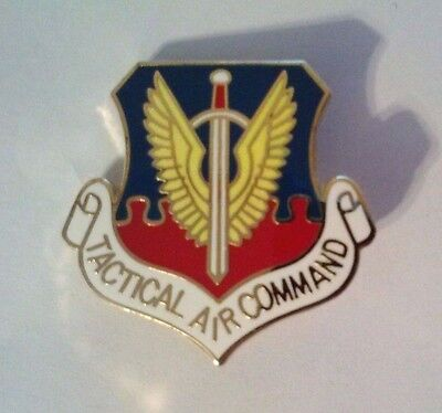 Tactical Air Command Hat Pin    1 1/8""