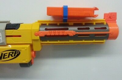 MAGAZINE HOLDER for NERF TACTICAL RAIL custom ACCESSORY attachment dart gun 3D