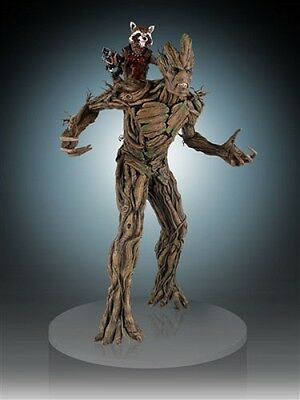 Marvel Guardians of the Galaxy Statue 1/4 Rocket Raccoon & Groot 54 cm