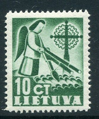 LITHUANIA;  1940 early ' Liberty ' issue Mint hinged 10c. value