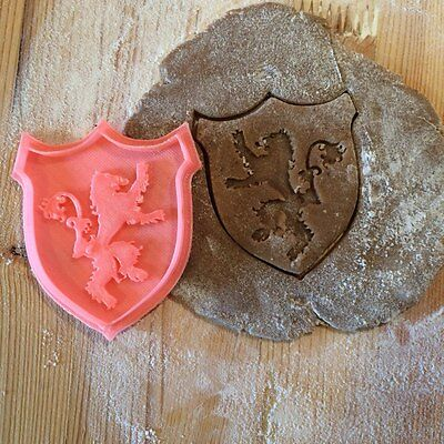 Game of Thrones - Lannister House cookie cutter - 1pc - Plastic 3d printed (PLA)
