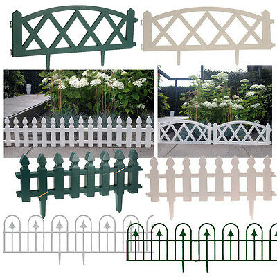 Flexible Plastic Garden Grass Lawn Edging Borders Panels Wall Fence Fencing