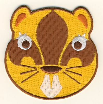 Beavers Embroidered Face Fun Scouts Badge