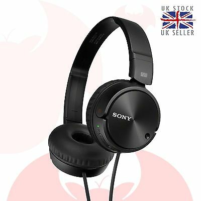 Sony Headphones MDR-ZX110NC Overhead Noise Cancelling Stereo Headset MDR-ZX110NA
