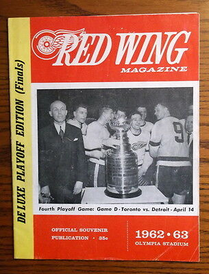 1963 Stanley Cup Finals - Red Wings vs Leafs - Game 4