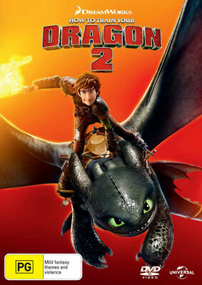 How To Train Your Dragon 2 DVD R4 Brand New!