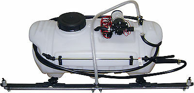 Turfmaster 15 Gallon rack mounted Sprayer 600mm Spray boom & wander hose lance