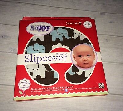 NEW Boppy Elephant Slipcover Target Exclusive  Free Shipping
