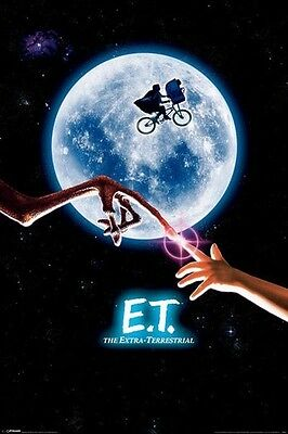 E.T. MOVIE ONE SHEET EXTRA TERRESTRIAL POSTER (61x91cm)  PICTURE PRINT NEW ART