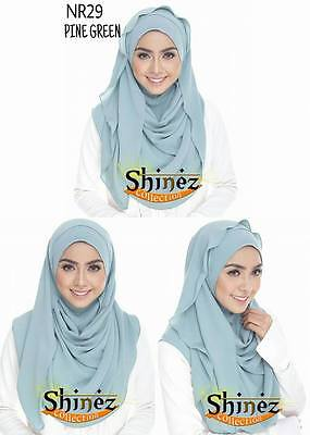 Instant Hijab / Slip On Irene ShinezCollection Shawl Women / Muslimah