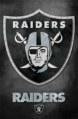 (LAMINATED) OAKLAND RAIDERS POSTER (57x87cm)  PICTURE PRINT NEW ART