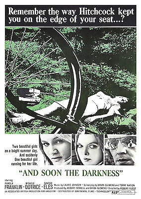 And Soon the Darkness (1970) - A1/A2 POSTER **BUY ANY 2 AND GET 1 FREE OFFER**