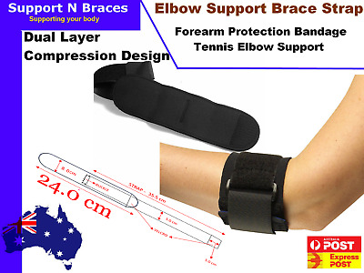 SPECIAL-Adjustable Tennis Golf Elbow Support Brace Strap Band Forearm Protection