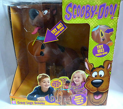 Scooby Doo / Crazy Legs Scooby Doo  / New In Box / Damaged Box