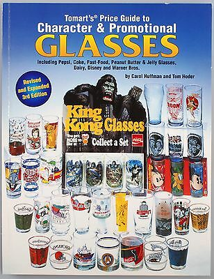 Tomart's Price Guide to Character & Promotional Glasses 3rd Edition Book