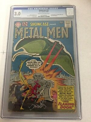 Showcase 37 Cgc 3.0 1st Appearance Of The Metal Me