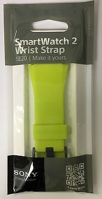 Sony SmartWatch 2 Wrist Strap SW2 SE20 Band - Yellow lime