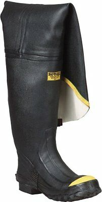Honeywell Safety T112-13 Servus Safety Full Hip Boot for Mens, Size-13, Black