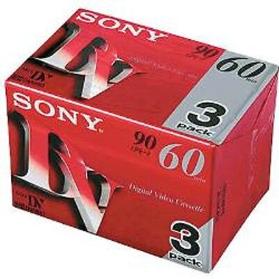 Sony Mini DV 60min 3pack