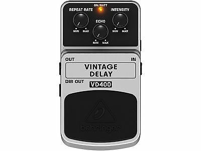 Behringer Vd400 Effetto Delay A Pedale