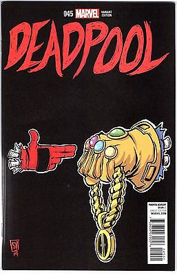 Deadpool Issue # 45 250 Comic Run the Jewels Young Variant 1:50 Marvel Death of