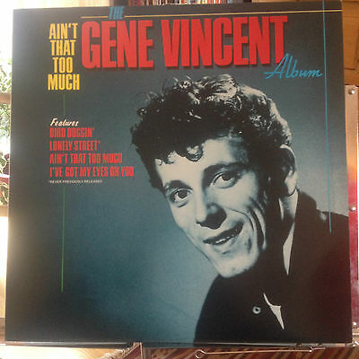 Gene Vincent - Ain't That Too Much - Mint Vinyl -  Rare First Pressing