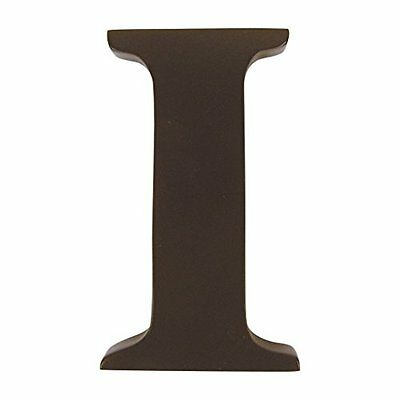 """Trend Lab Brown 6"""" Tall Letter, Letter I"""