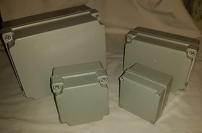 electrical enclosure plastic junction box IP65 dust/splash proof various sizes