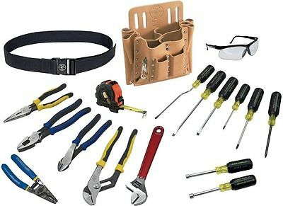 Klein Tools 80118 Journeyman Electrician 18-Piece Tool Set
