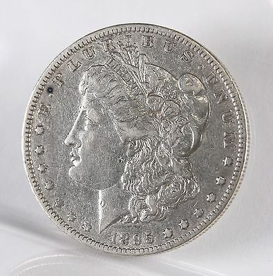 Raw 1895-O Morgan $1 Uncertified Ungraded New Orleans US Silver Dollar Coin Circ