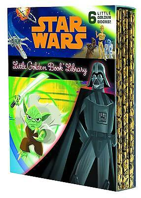STAR WARS LITTLE GOLDEN BOOK COLLECTION Box Set 6 Hardcover Books HC