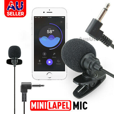 Stereo Recording Microphone for Smart Phone DSLR Camera Camcorder 3.5mm Jack Mic