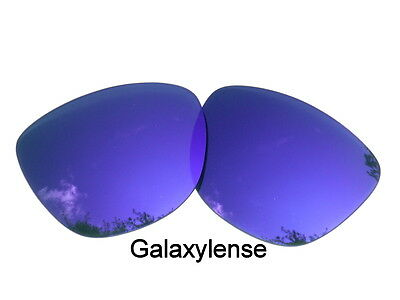 Galaxy Replacement Lenses For Oakley Frogskins Sunglasses Purple Polarized