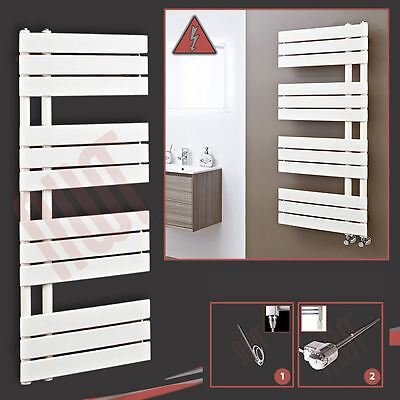 "500mm(w) x 1200mm(h) Pre-filled Electric ""Apollo"" Latte Towel Rail - 300W"