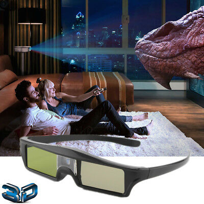 Rechargable Universal Active Shutter 3D Glasses For DLP-Link 3D DLP Projector