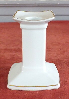 JL Coquet bougeoir porcelaine Limoges modele Prelude candlestick